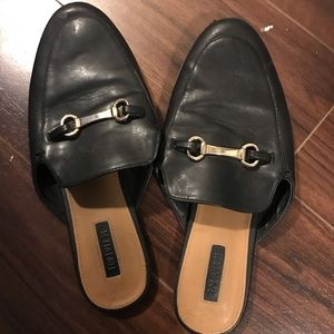 Inspired Leather Mules